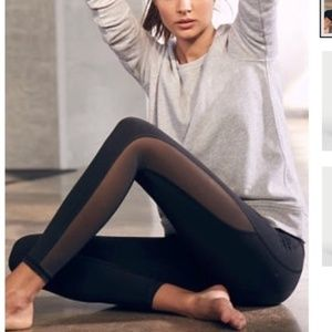 New Victoria's Secret VSX Mesh Inset Leggings
